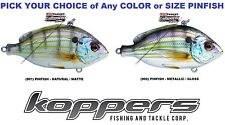 Koppers Live Target Pinfish Lipless Rattle Trap Bait Saltwater Lure Pick Any