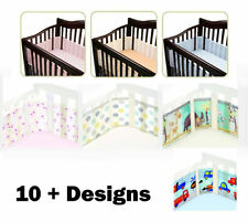 Breathable Baby Cot / Cot bed Safe Air Mesh Bumper Wrap for Baby 10 + Designs