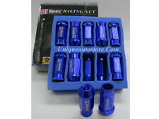 D1 Spec Racing Sport Wheel Lug Nuts 15MM x M12 20Pcs Light Weight Aluminum