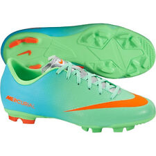 Nike Mercurial Victory IV FG 2014 Soccer SHOES New Lime Green KIDS - YOUTH