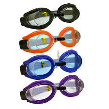 4 Colour Adjustable Clear View Anti-fog Adult / Boys And Girls Swimming Goggles