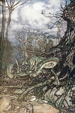 Arthur Rackham BOOK OF PICTURES 1913 Ref 23 PRINT A4 or A5 Size Unframed