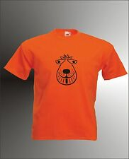 SPACE HOPPER - RETRO SEVENTIES CHOPPER MULLET MENS WOMENS KIDS FUNNY T-SHIRT