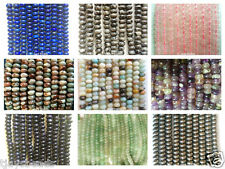 Gemstone Rondelle Beads for Jewellery Making 5 x 8mm