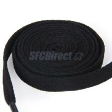 6/12 Pairs Flat 8mm Bootlaces Shoelaces Shoes Sneakers Laces Cords 36/45/54 inch