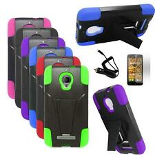 Phone Case For Alcatel One Touch Fierce Rugged Cover Stand Car Charger Film