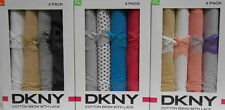 DKNY Cotton Bikini With Lace 4 Pack Underwear Multiple Colors New!