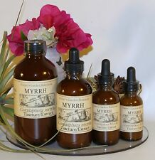 MYRRH Tincture Extract  ~ anti-fungal, microbial 4sizes