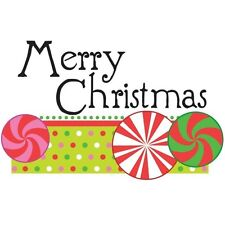 MERRY CHRISTMAS! DECOPAC EDIBLE IMAGE DECORATING CAKE TOPPER! FREE SHIPPING!