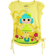Lalaloopsy Girls Yellow T-Shirt Top Q2379A 4 5 6 6X