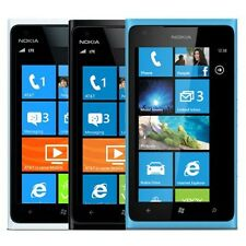 Nokia 900 Lumia AT&T Windows Mobile 8MP Camera WiFi Bluetooth Cell Phone