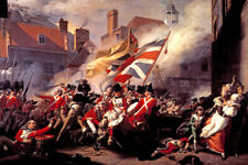 THE DEATH OF MAJOR PEIRSON 1783 PAINTING BY JOHN SINGLETON COPLEY REPRO