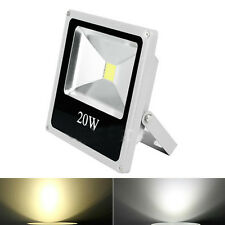 20W Warm / Cool White Thin Landscape LED Flood Light Lamp Outdoor Spotlights