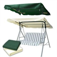 77 x 43 Outdoor Swing Canopy Top Replacement Cover Garden Patio 2 Color Options