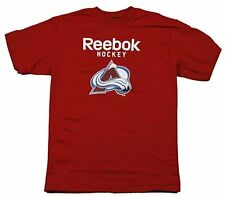 Reebok NHL Youth Boys Colorado Avalanche Short Sleeve Tee Shirt, Red