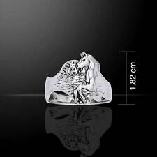 Absolutely stunning HORSE Sterling Silver RING - Made to Order