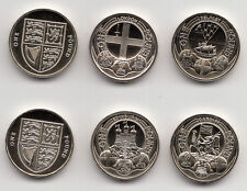 Rare One Pound Coin £1 Capital Cities / Shield / Floral 2010 - 2015 Uncirculated