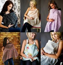 UDDER COVERS BREASTFEEDING NURSING COVER COTTON INFANT BLANKET 6 CHOICES NEW