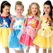 Disney Princess Ballerina Ages 1-4 Girls Fancy Dress Fairytale Childrens Costume