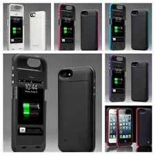 2500mAh External Backup Power Battery Charger Case Cover For Apple iPhone 5 5S