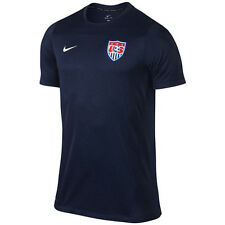 Nike United States USA World Cup WC 14 Soccer Training Jersey New Navy / Red