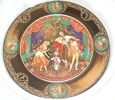 NIB RUSSIAN HAND PAINTED ART Decorative Plates