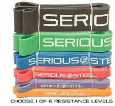 """Serious Steel 41"""" Assisted Pull-Up Band, Resistance & Exercise CrossFit Band"""