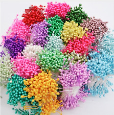 1000pcs 3mm double Tip Headed Stamens Sugarcraft Floral Supplies flower decorate