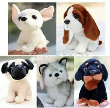 4 Kind Plush Doll Soft Toy Stuffed Animal Cute Dog Pet Puppy Gift DAU