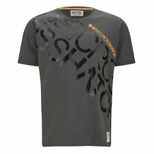 Crosshatch Men's Laydown T-Shirt - Charcoal - DD1