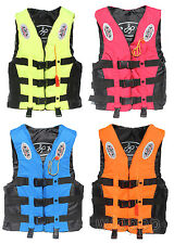 Adult Swimming Polyester Foam Kayak ski buoyancy aid impact life jacket pfd vest