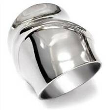 TK036pb LONG FINGER  WOMENS RING BAND NO STONE STAINLESS STEEL  NO TARNISH