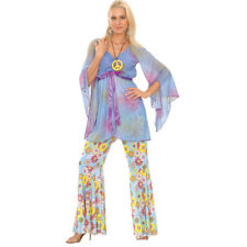 60s Sessanta Woodstock Hippie Da Donna Costume Halloween