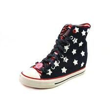Daddy's Money Gimme-Starry Skies Womens Textile Wedges Heels Shoes
