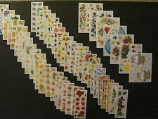 CREATIVE MEMORIES - Set C - SPRING Flower Stickers - You Choose!