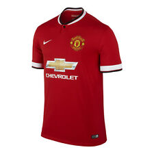 Nike Manchester United Season 2014-2015 Home Soccer Jersey Brand New Red