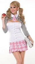 Sexy Naughty School Girl Outfit Adult Halloween Costume