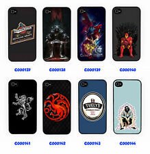 GAME OF THRONES FIRE AND BLOOD IRON PHONE CASE IPHONE 4 5 5S 5C GALAXY S3 S4 S5