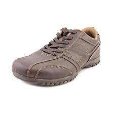 Famous Name Brand Cayden Mens Wide Faux Leather Sneakers Shoes