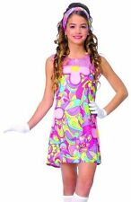 Kids Halloween Costume 60s 70s Disco Go Dress Outfit