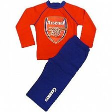 Arsenal FC Official Childrens Junior Football Pyjamas 5 - 6 7 - 8 Years