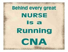 Custom Made T Shirt Behind Every Great Nurse Is Running CNA Occupation Medical
