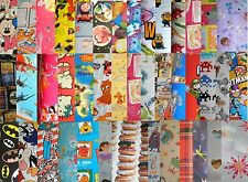 X / Large 1m Sheet TV / FILM CHARACTER Novelty Disney Gift wrap Wrapping Paper