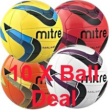 Mitre Malmo Training Quality Football 10 X Ball Deal