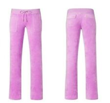JUICY COUTURE VELOUR SNAP POCKET BOOTCUT PANTS NEW XS S  $126
