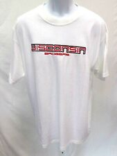 Wisconsin Badgers Adult Wisconsin Badgers Short Sleeve T-Shirt White