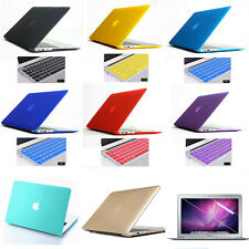 3in1 Rubberized Hard Case Cover +KB Cover For Macbook air pro 11 13 15 '' inch