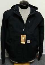 Carhartt Mens Ishpeming Hooded Mesh Lined Jacket  100248 001 New With Tags