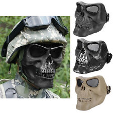 Paintball Tactical Hunting Game Airsoft Skull Skeleton Mask Full Face Protector