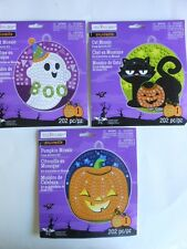 HALLOWEEN ACTIVITY KIT ASSORTED DESIGNS MOSAIC DESIGNS YARN SPIDER WEB KIT